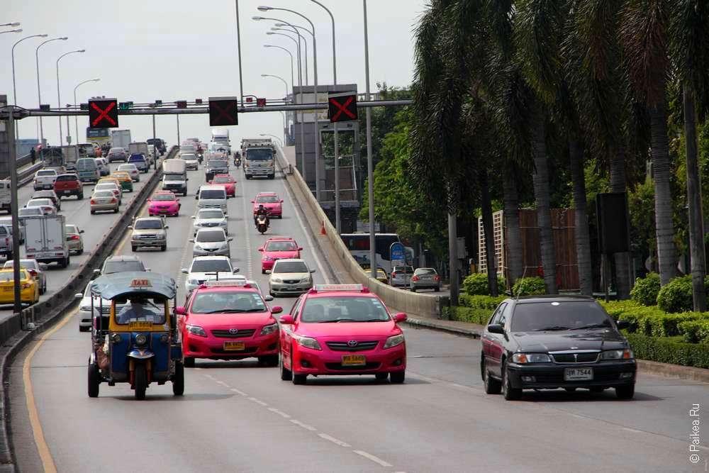 Автодвижение в Бангкоке