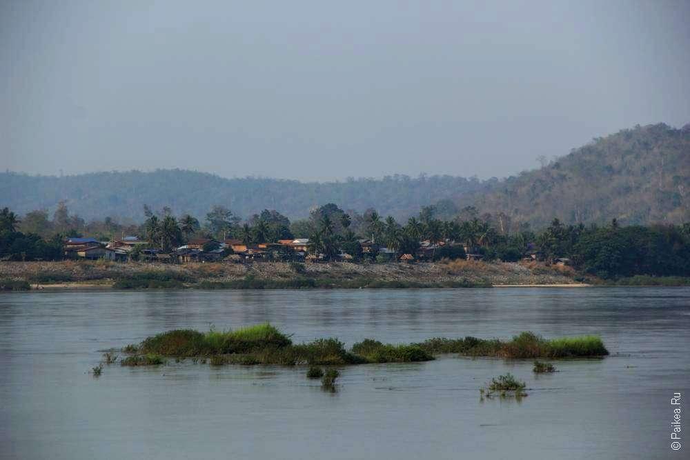 Деревня на противоположном берегу