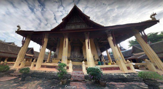 храм изумрудного будды вьентьян