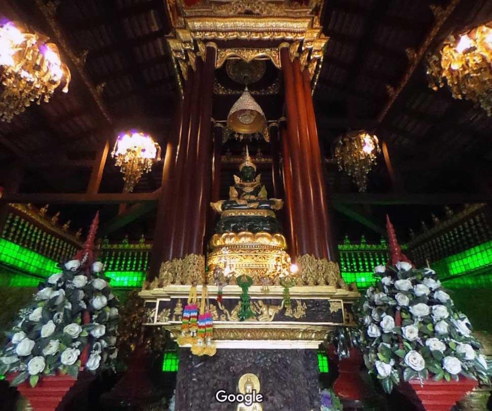 изумрудный будда чианг рай