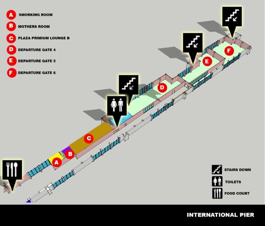 Залы ожидания аэропорта Мале