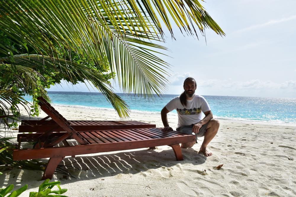 вилла с собственным пляжем на мальдивах