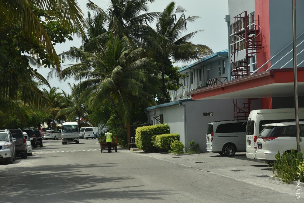 морской терминал аэропорта мале