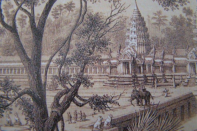 Гравюра Ангкор