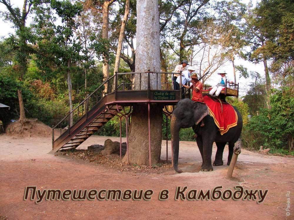 Путешествие в Камбоджу самостоятельно