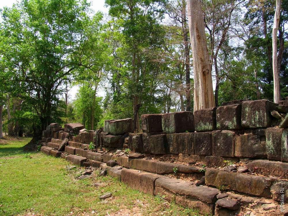 Город Лингапура в Камбодже