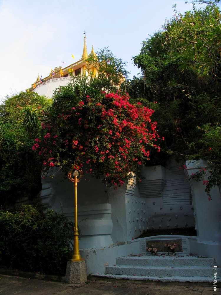 Бангкок Храм Золотой горы - Ват Сакет
