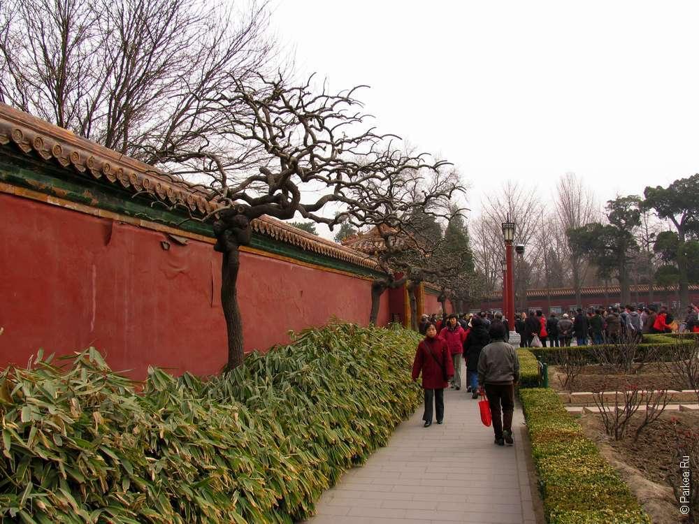 История Пекина - парк в центре города