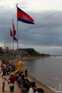 Набережная в Пномпене