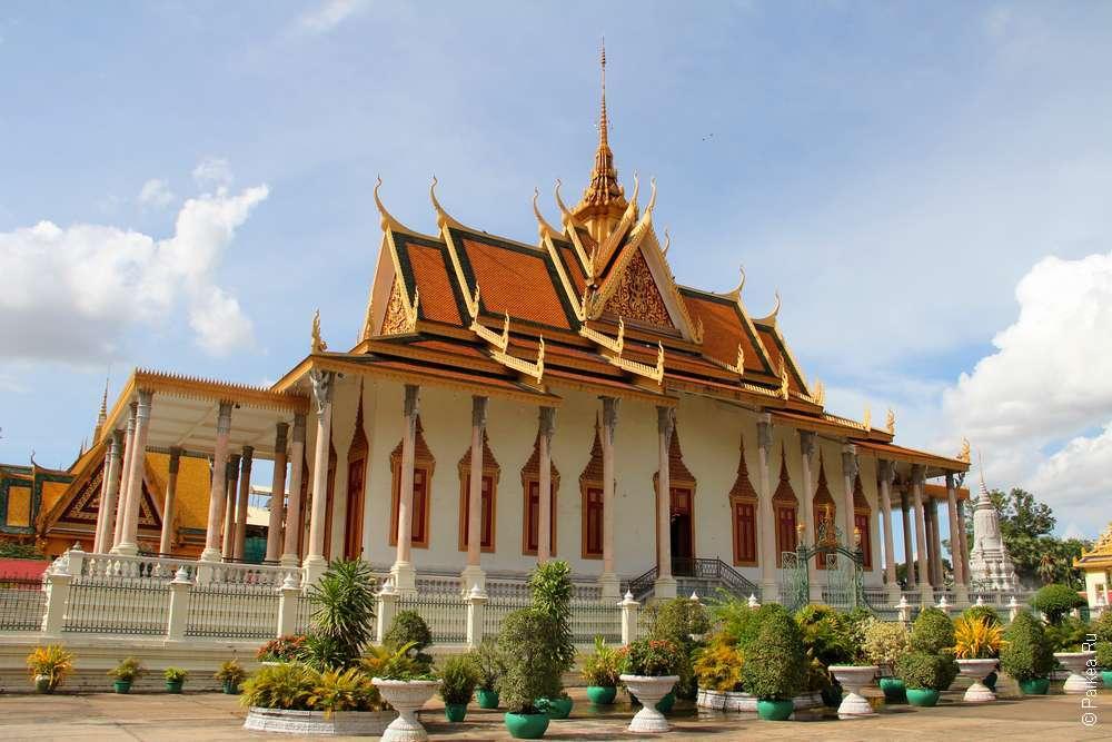 Серебряная пагода Пномпень