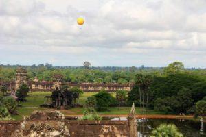 Полет на воздушном шаре над Ангкор Ват