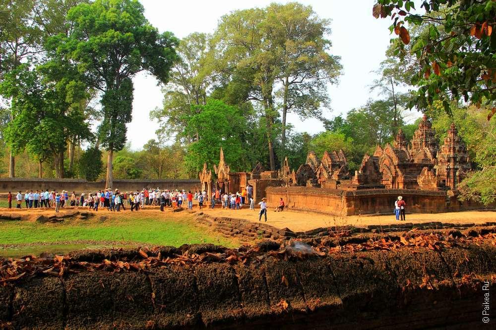 Бантей Срей в Камбодже