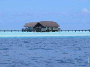 Мальдивы бунгало на воде