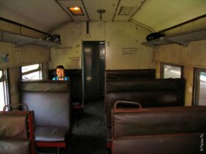 Вагон поезда в Шри-Ланке