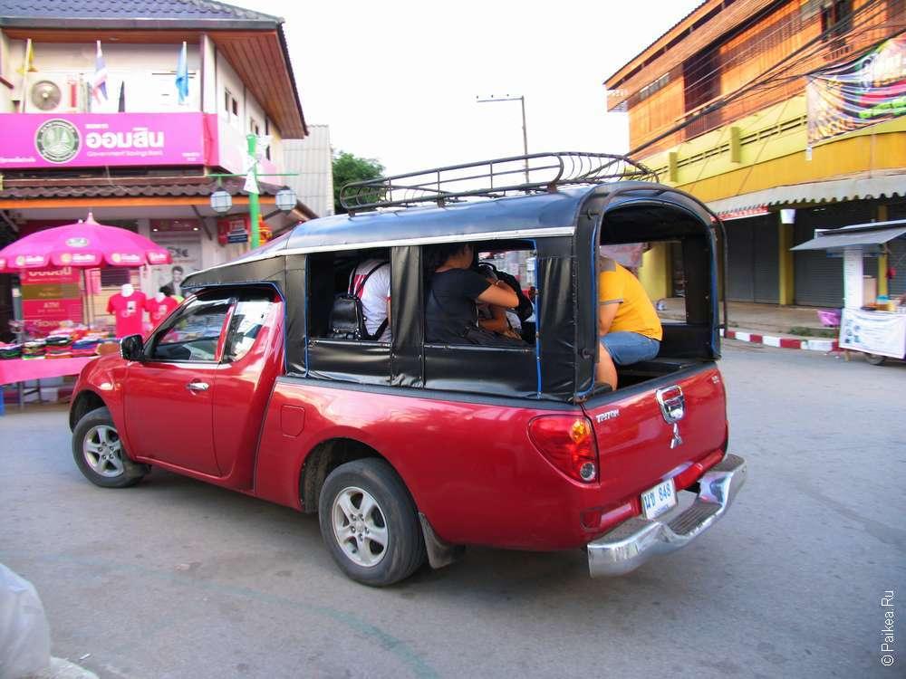 Cевернsq Таиланд маршрут