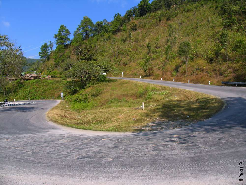 Из Чианг Май в Пай маршрут