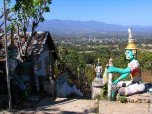 Храм Ват Пратат Мэ Йен Пай Таиланд