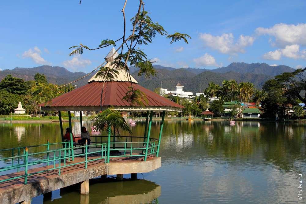 Мае Хонг Сон озеро Чонг Кхам
