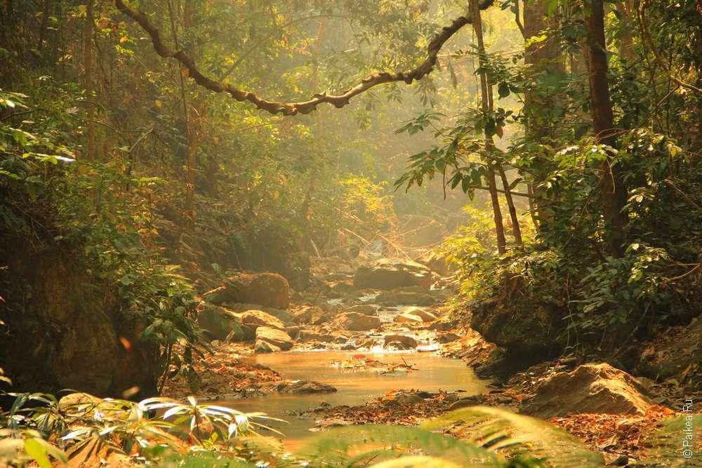 Водопад Мэ Йен Пай Таиланд