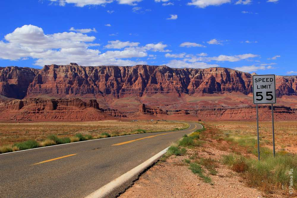 Дорога к мосту Навахо