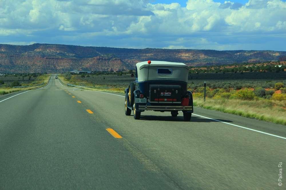 Поездка в США на автомобиле