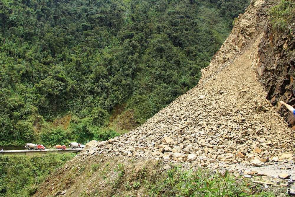 Горные дороги Перу