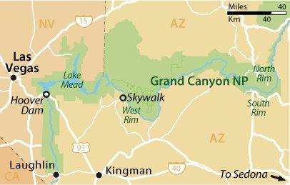 Лас-Вегас и Гранд-Каньон