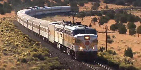 Как добраться из Лос-Анджелеса в Гранд-Каньон на поезде