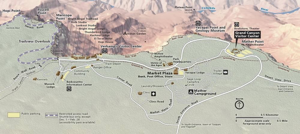 Гранд-Каньон достопримечательности