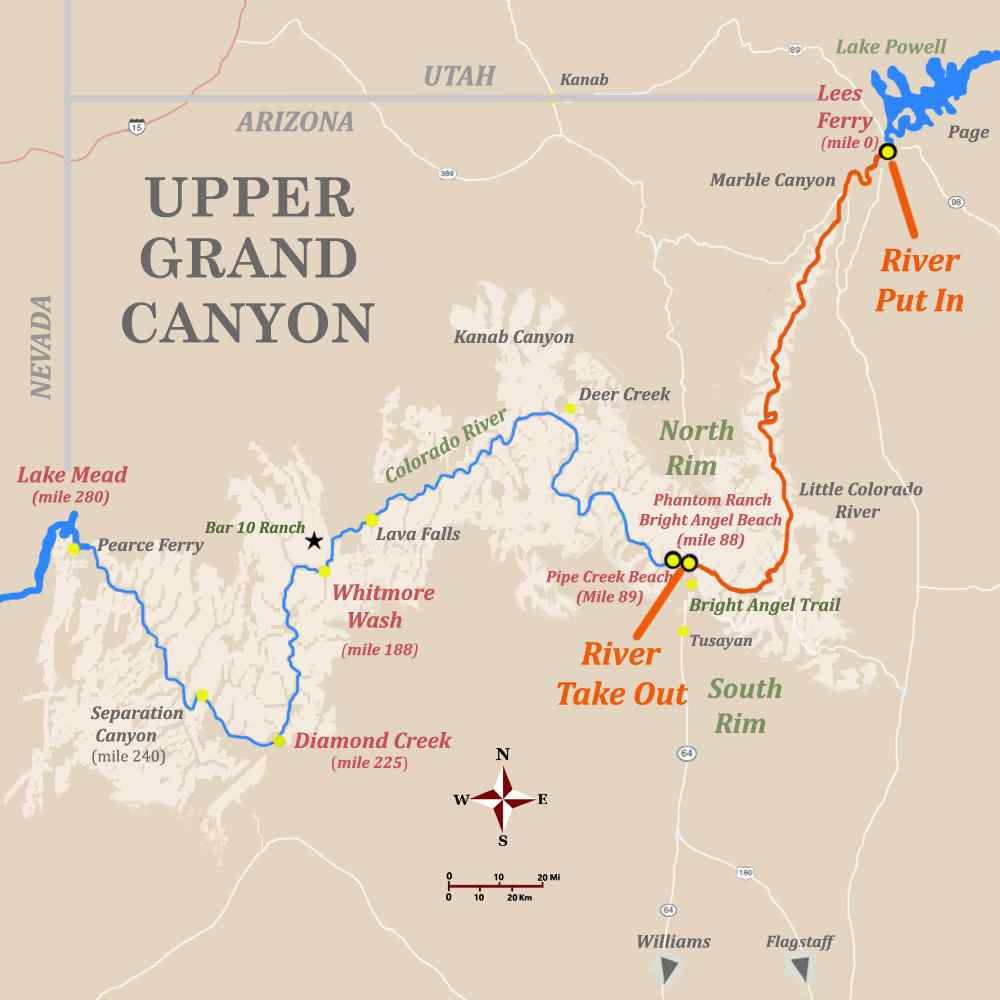 Лиз Ферри, тур в Гранд-Каньон