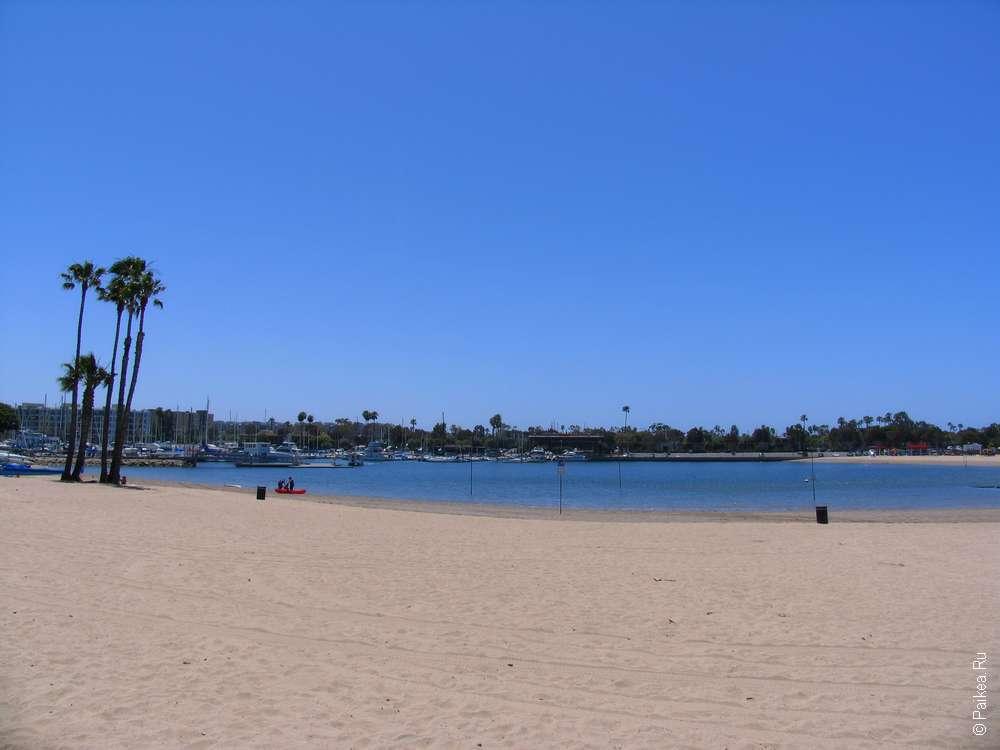 Пляж Марина дель Рей в Лос-Анджелесе (USA, Marina del Rey)