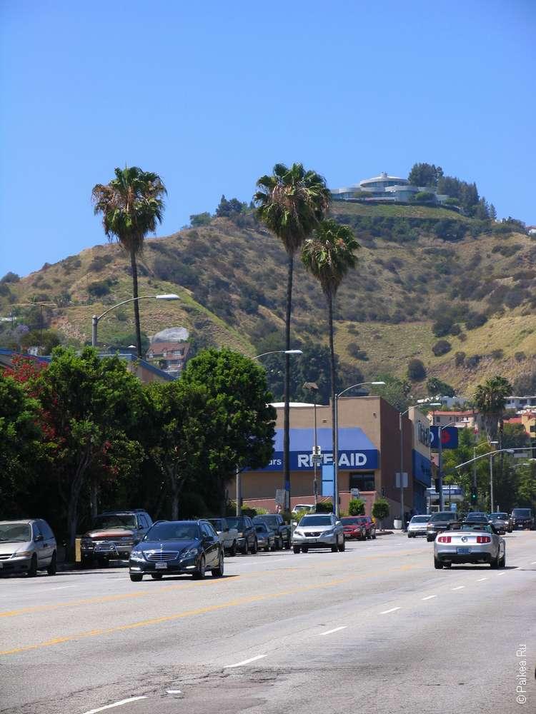 Лос-Анджелес на машине
