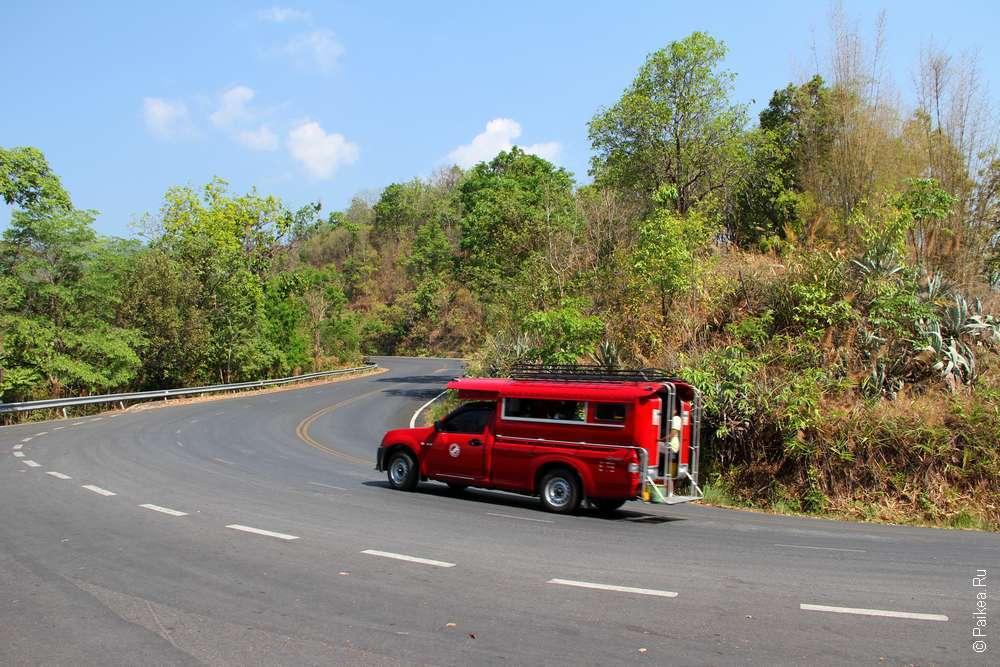 Северный Таиланд на автобусах