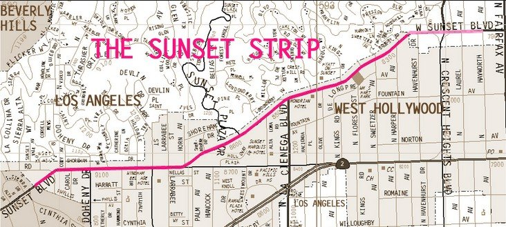 Бульвар Сансет (Sunset Boulevard)