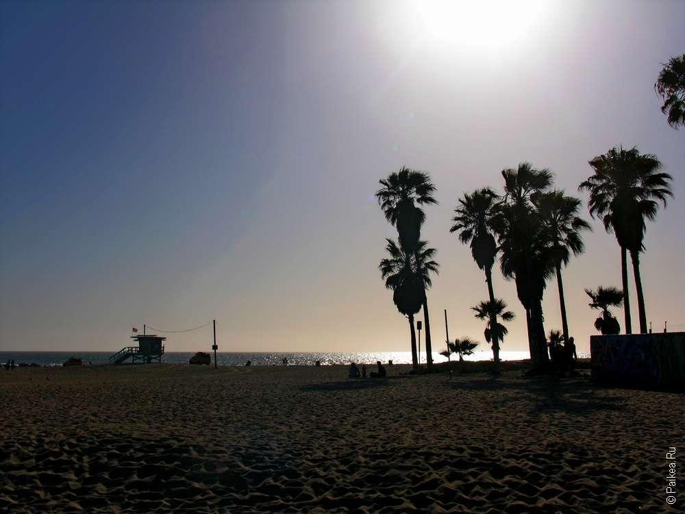 Лос-Анджелес, пляж Венис