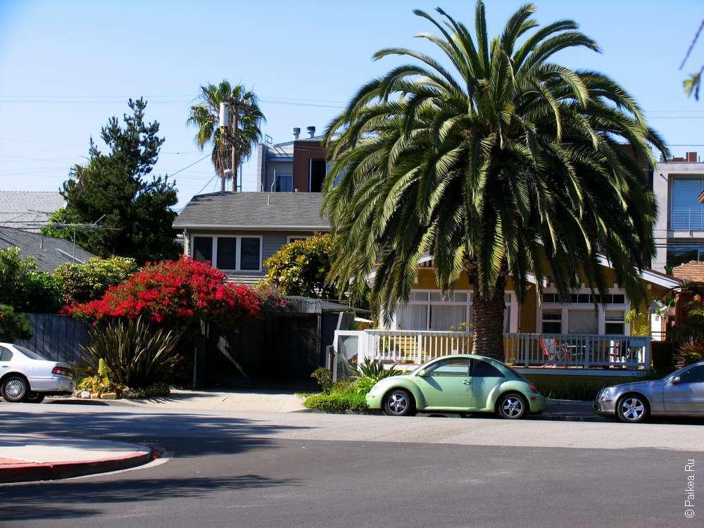 Улицы Лос-Анджелеса на машине