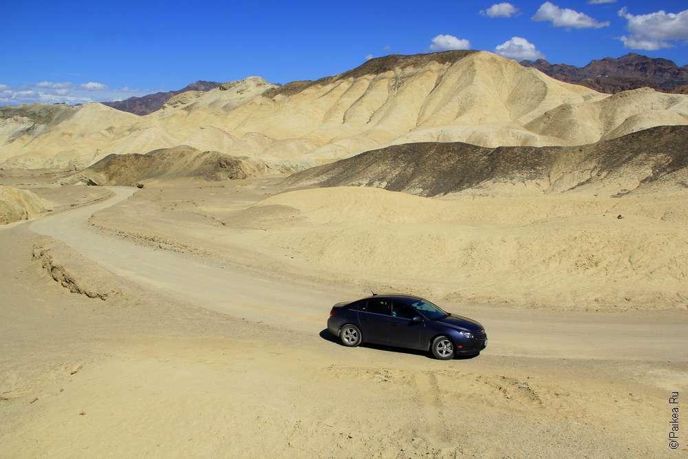 Маршрут по Калифорнии на машине