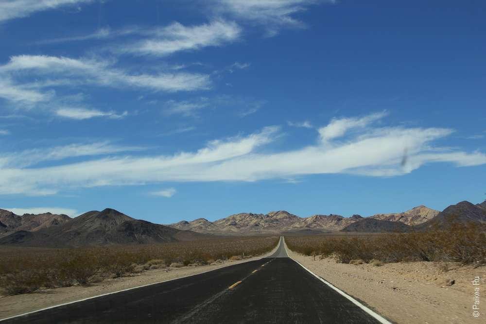 Дорога в США