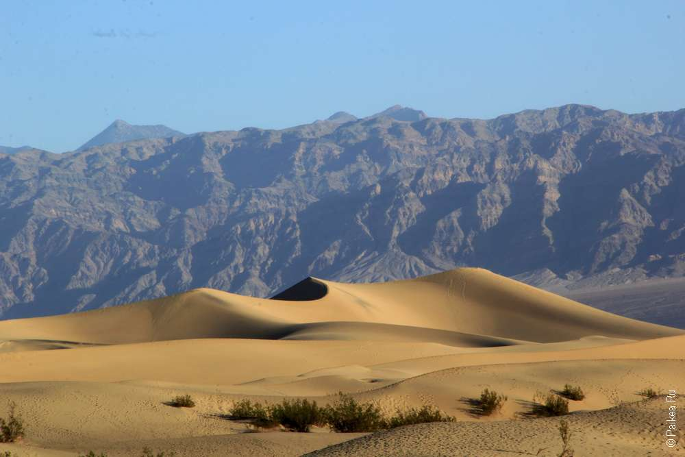 Долина смерти в поездке по США