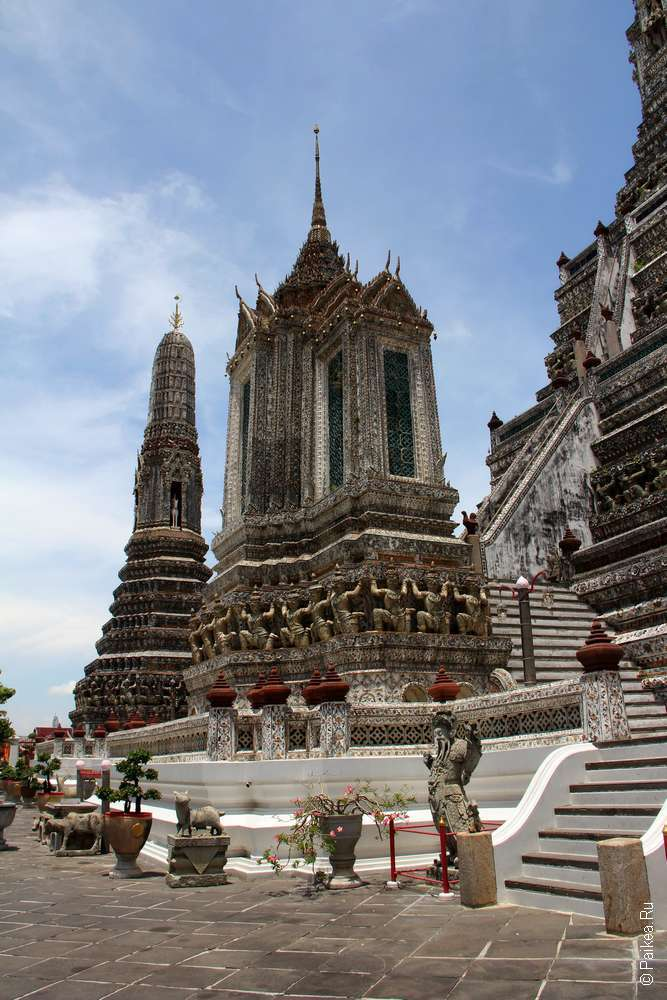 Ват Арун, Бангкок, Таиланд