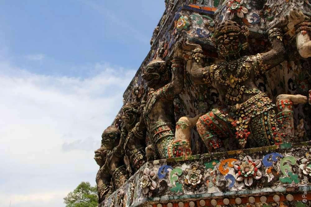 Ват Арун фото, Бангкок, Таиланд