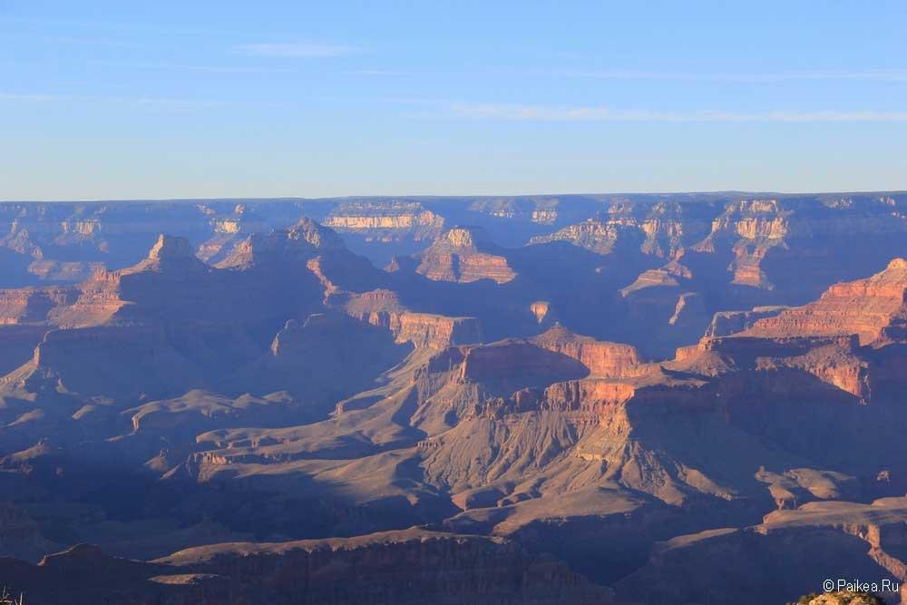рассвет гранд-каньон