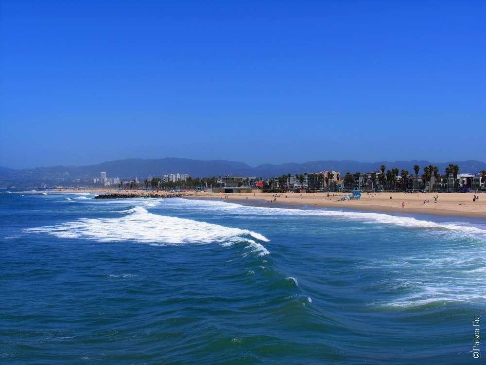 Пляж рядом с Лос-Анджелесом