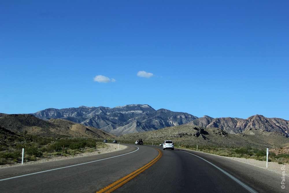 На машине из Лас-Вегаса