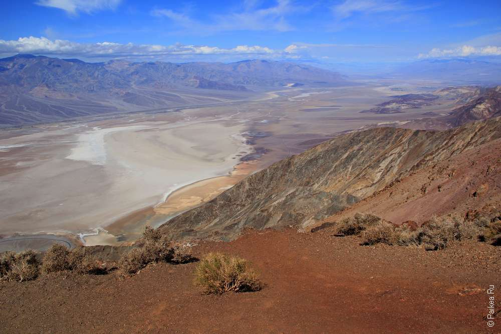 Долина смерти из Лас-Вегаса