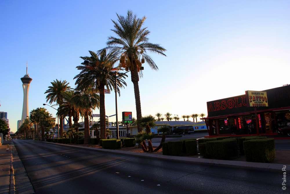 Отели Лас-Вегаса в США