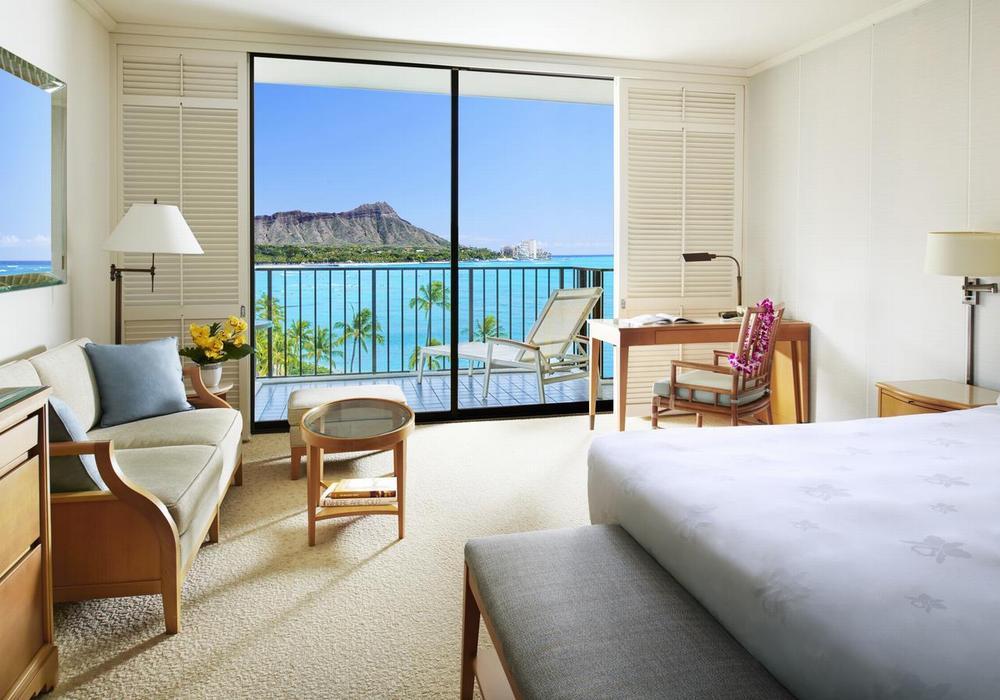 Гавайи отели 5* Halekulani, остров Оаху, пляж Вайкики