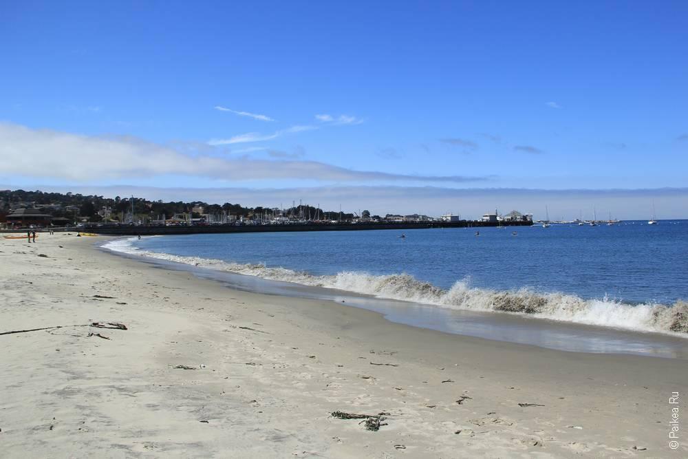 пляж монтерей