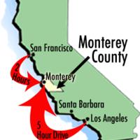 Как добраться в Монтерей на машине