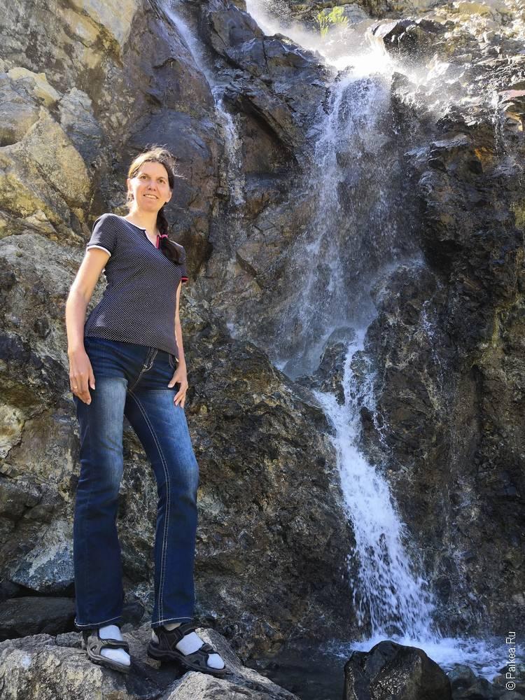 водопад в калифорнии